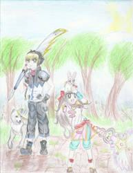 gift: Wolf and Cat- Last Artists Standing by YukiTYumYum