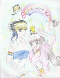 gift collab: Yuki and Joey by YukiTYumYum