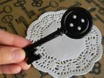 Coraline Key-Polymer Clay