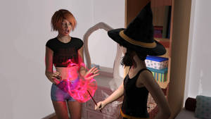 Scene from My Sister is a Witch - Iray by areg5