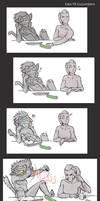 Catra vs cucumbers