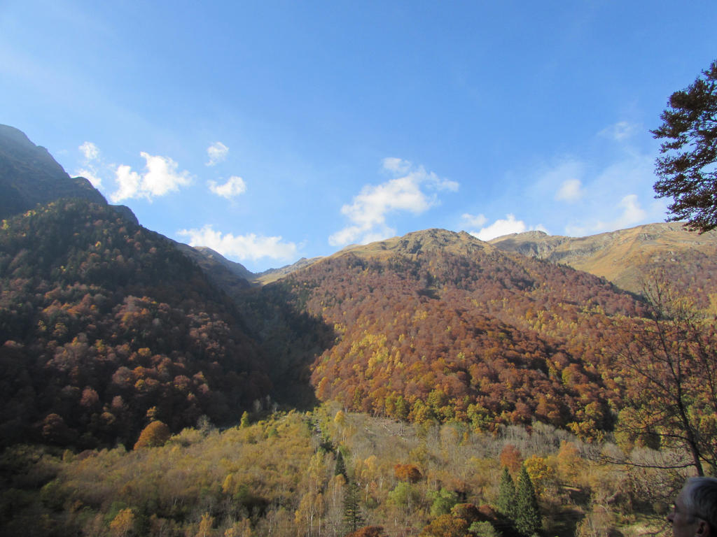 Autumn mountain II by fairling-stock