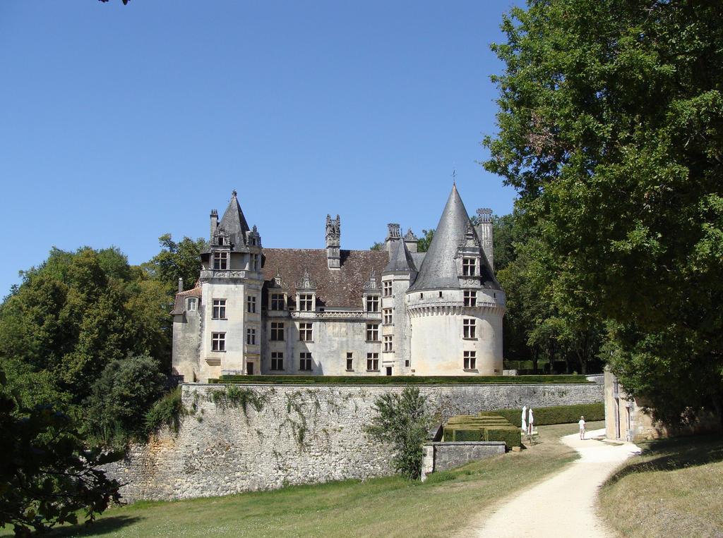 Chateau de Puyguihlem by fairling-stock