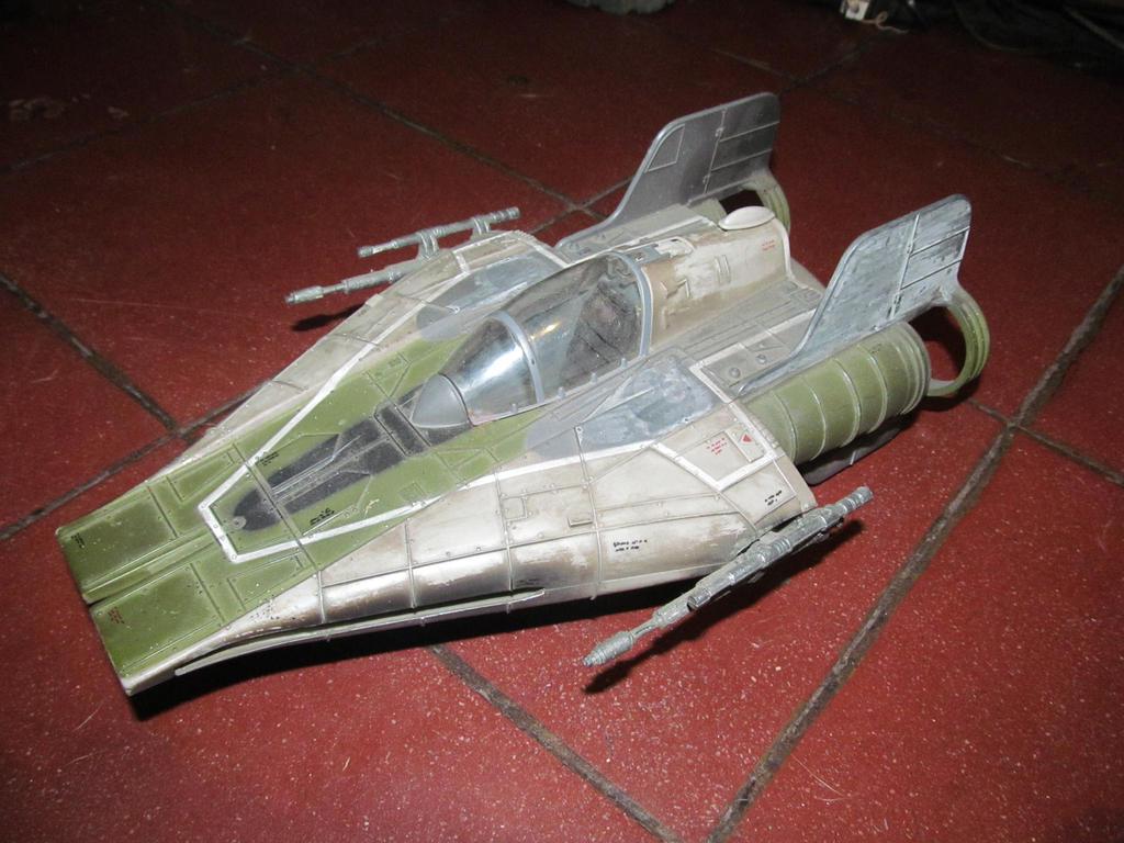 Capt. Kharl Jando Baldo RZ1 Starfighter by rebelrecon