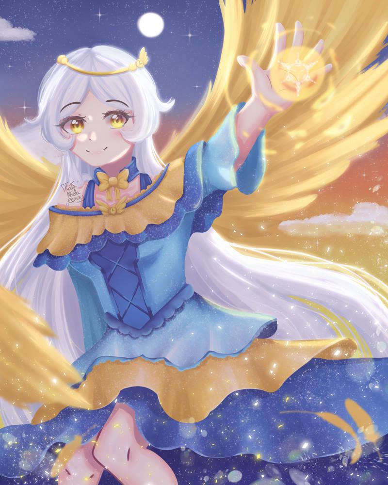 Clock Tower Angel