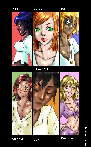 Personajes by Pirates-Land
