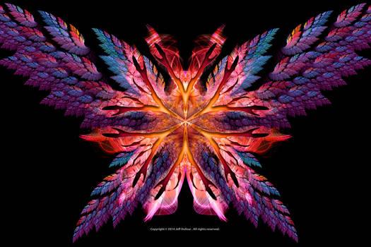 Flame Flower Wings