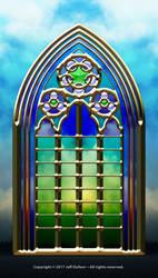 Gothic Window by jeffdufour