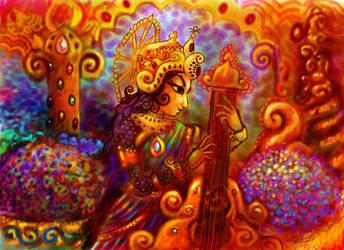 Deity Musician by DivineLightAngels
