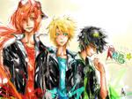Rowdy Rock Boys by chriztaychuang