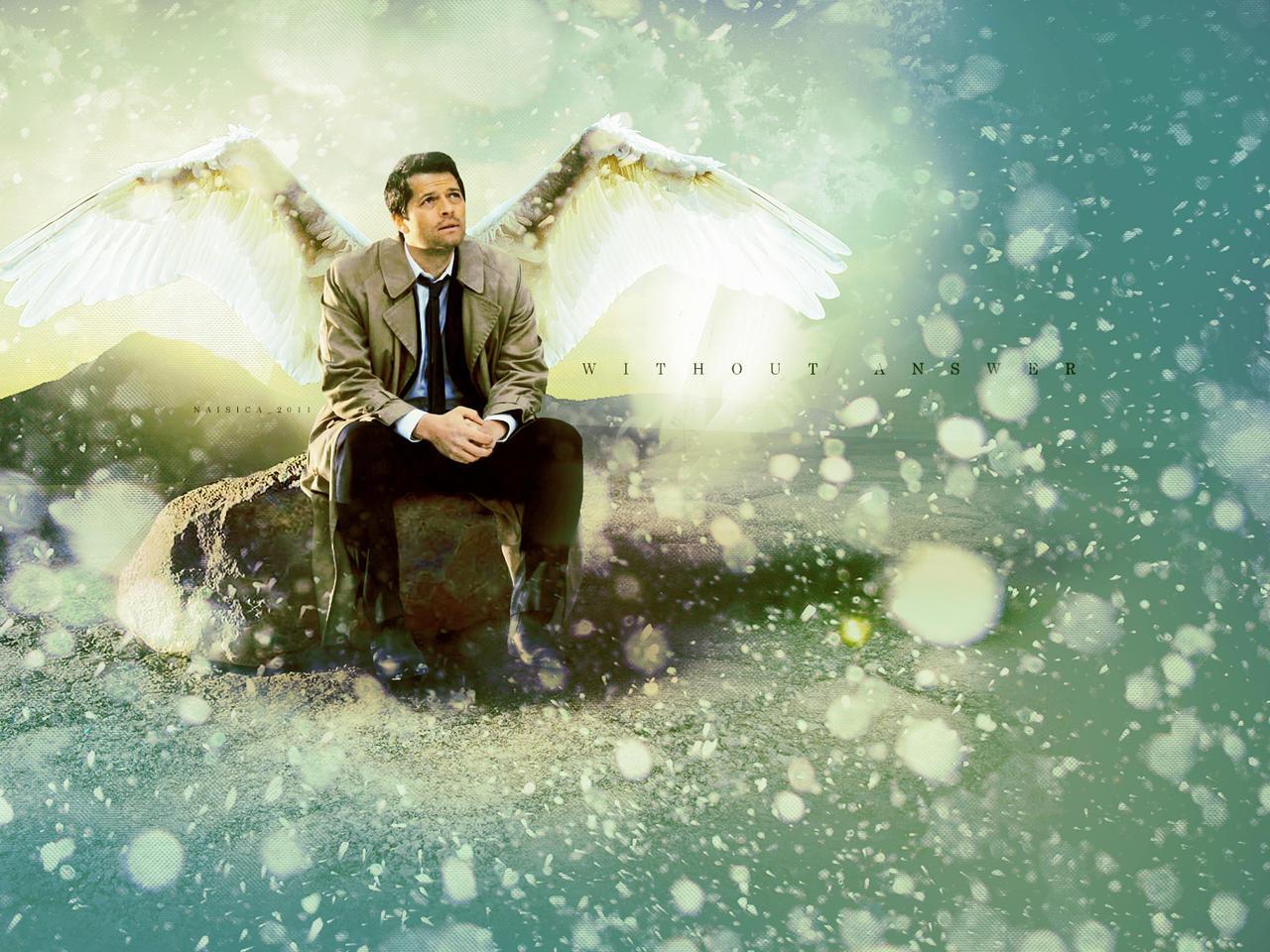 Supernatural Castiel W...