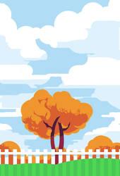 Fall Invitation by DrewLyons