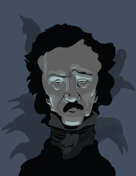 Edgar Allan Poe by DrewLyons