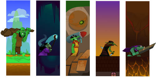 Goblin Sprites by DrewLyons