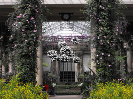 Botanical Garden Pillars by DrewLyons