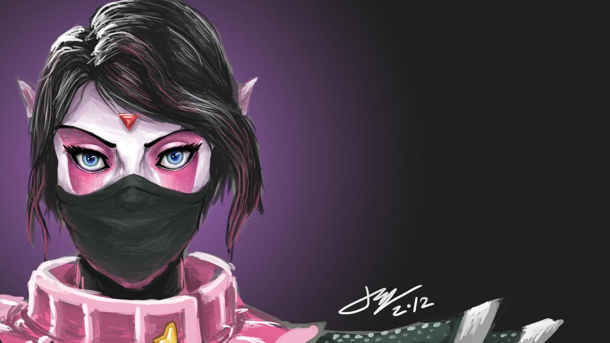 Templar Assassin by JJ-Han