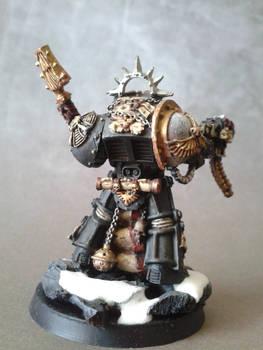 Black Templars Terminator Chaplain Rear