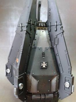 Black Templars Drop Pod