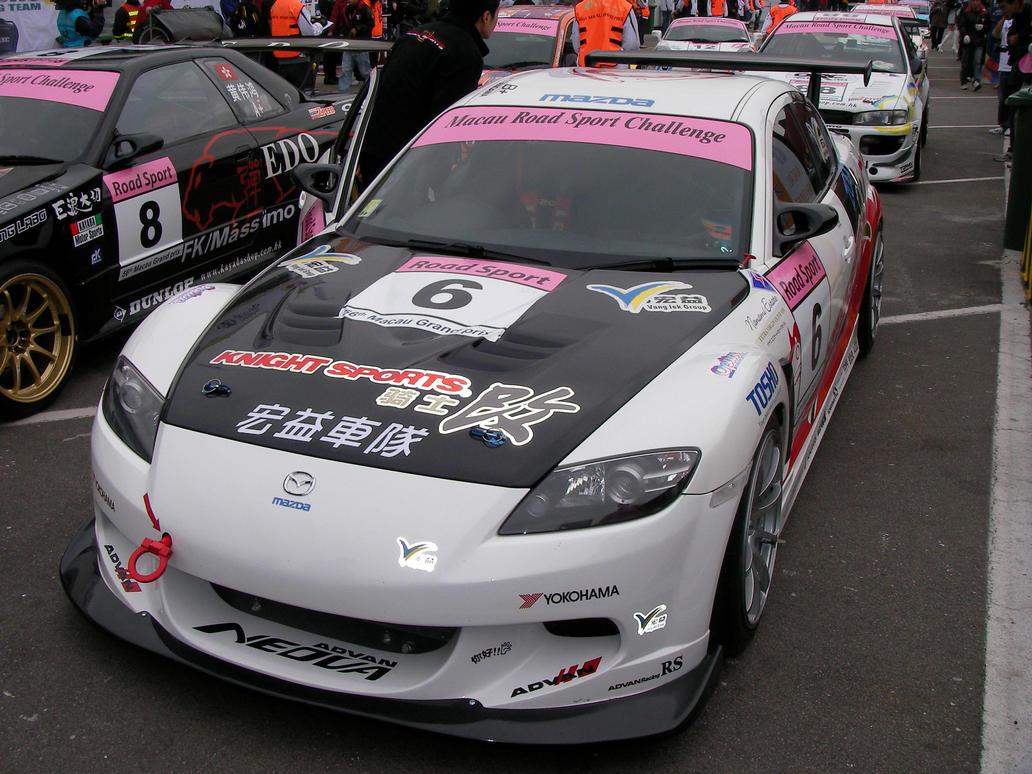 Mazda RX-8 Race car 2 by macaustar on DeviantArt