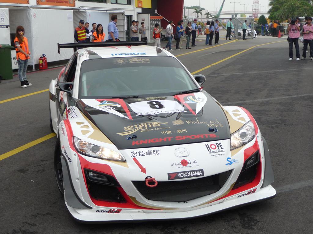 Mazda RX-8 race car by macaustar on DeviantArt