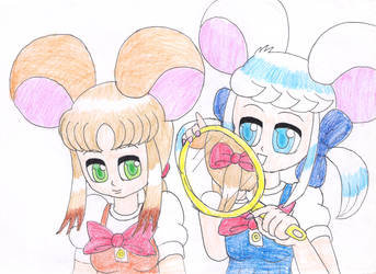 Sandy's pigtail by macaustar