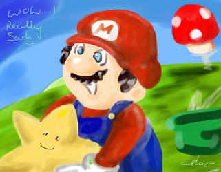 failed attempt at Mario D: by ChocoBinx