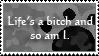 STAMP - Life's a bitch by ArsenicsamA