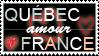 STAMP - Quebec AMOUR France by ArsenicsamA