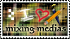 STAMP - I HEART Mixing Medias by ArsenicsamA