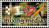 STAMP - I HEART Mixing Medias by ArsenicsamA