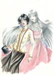 COMISH - Caelan and her Queen