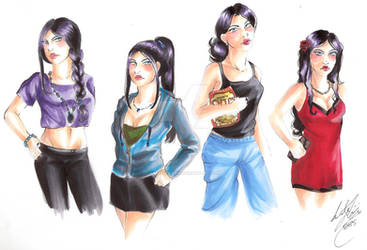 Female Character Styles Tryout1