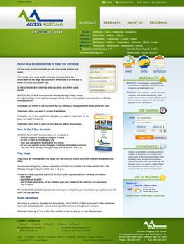 Access Allegany Website Mockup
