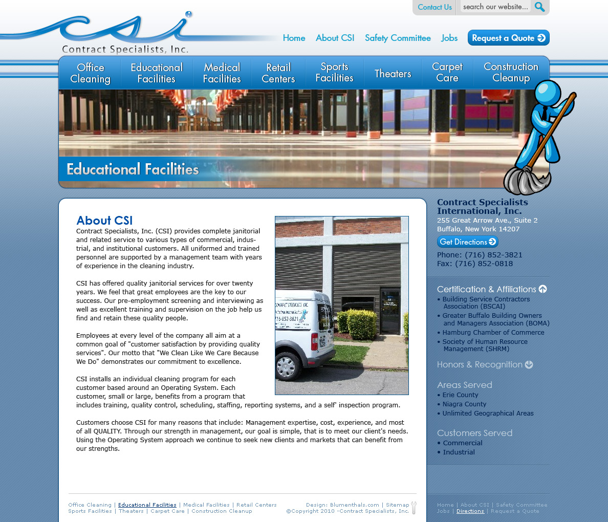 Contract Specialists Design
