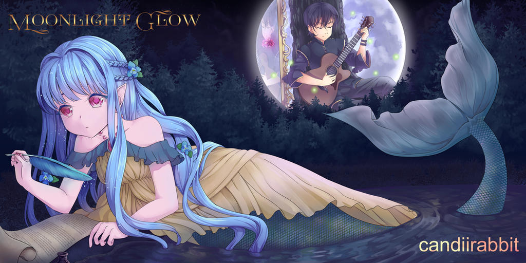 COM: Moonlight Glow by UsagiYogurt
