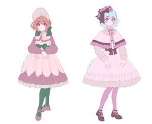 Classic Lolita Designs by UsagiYogurt