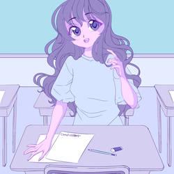 COM: Rin School by UsagiYogurt