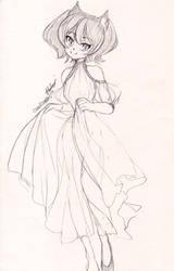 COM: Alanah Sketch by UsagiYogurt