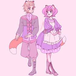 COM: Disguises by UsagiYogurt