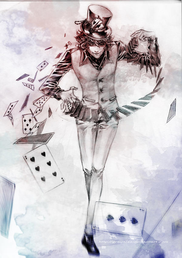 PC::Magic trick by Grayalzz