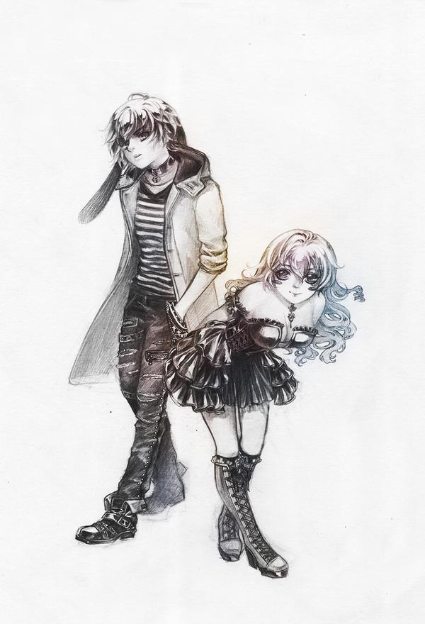 C:: Perfect couple by Grayalzz