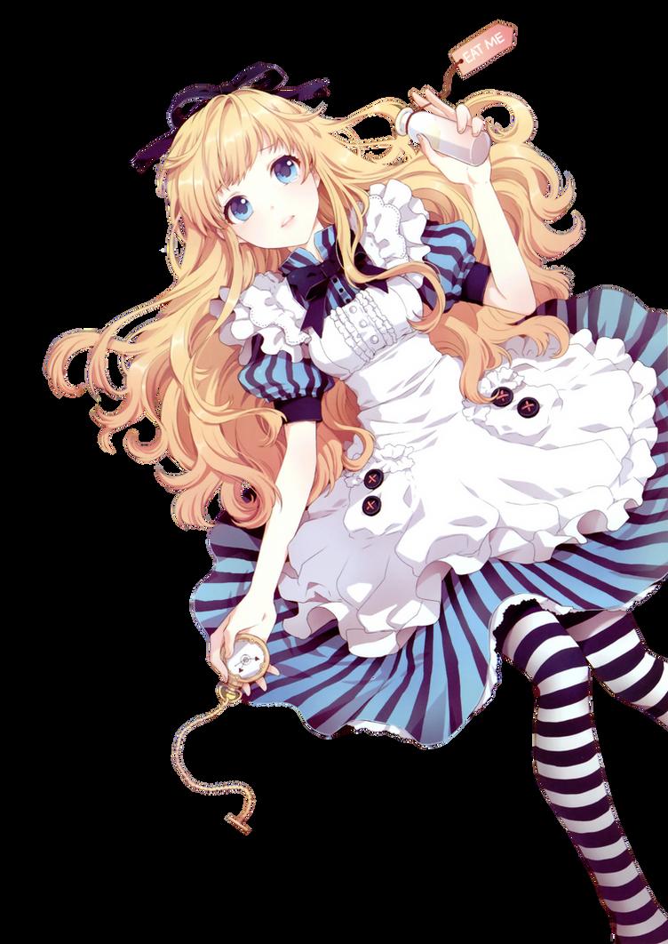 Anime Render #1 - Alice (Alice in Wonderland)