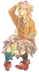 Anime Render #11 - Luna Lovegood (Harry Potter)