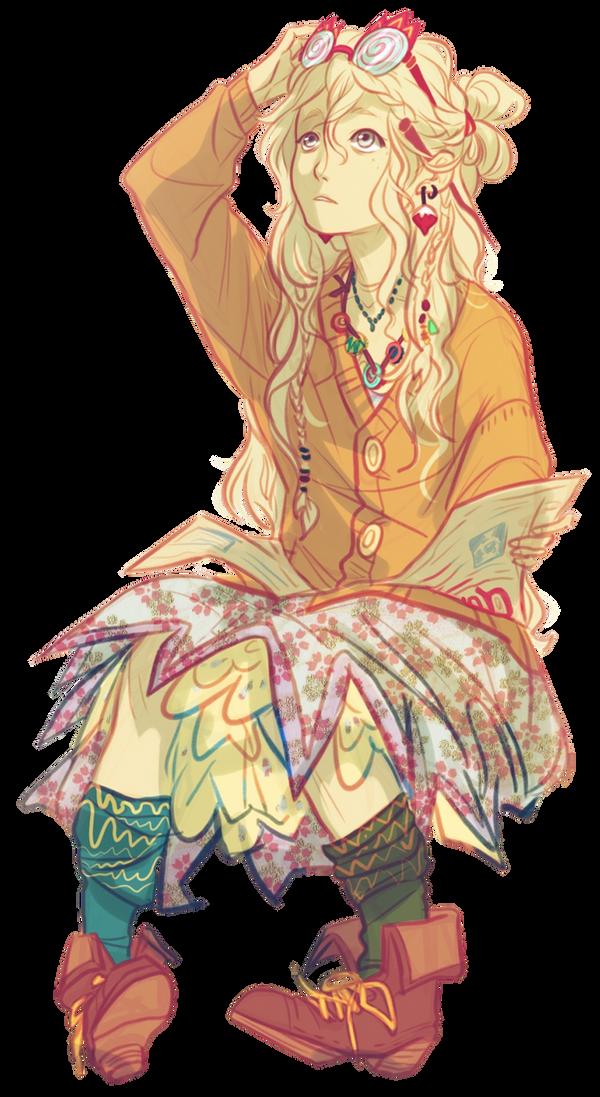 Anime Render #11 - Luna Lovegood (Harry Potter)