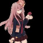 Anime Render #19 - Megurine Luka (Vocaloid)