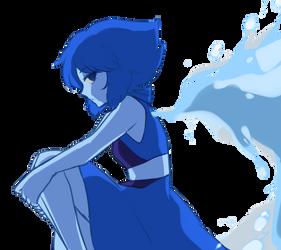 Anime Render #32 - Lapis Lazuli by ditzydaffy