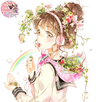 Strawberry Girl (by Starpri) Render