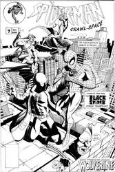 Spider-Man Crawlspace 7 Cover by MisterFear