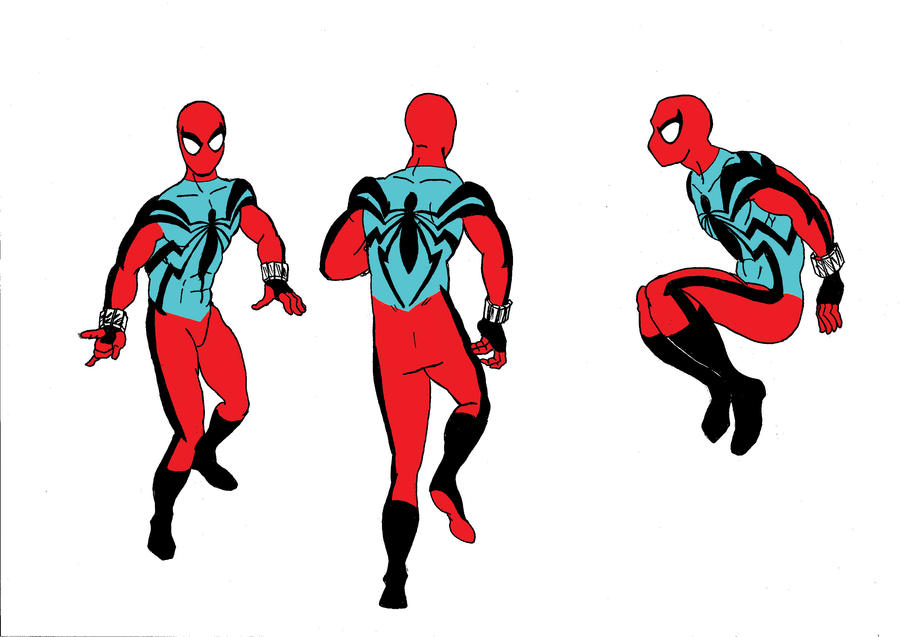 Scarlet Spider Redesign By Misterfear On Deviantart