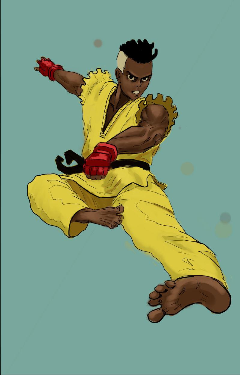 Sean (Street Fighter III) Fanart by christcheetos on DeviantArt